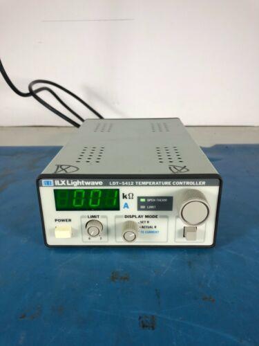 ILX Lightwave LDT-5412 Temperature Controller *30DAY ROR*