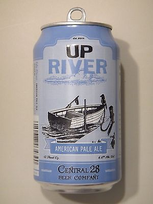 Central 28   Up River   Apa   Empty 12Oz Craft Beer Can Florida
