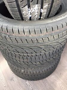 Snow tires 245/45R18 installed balanced $499