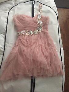 Pink Grade 8 Graduation Dress