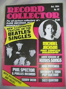 Record-Collector-Magazine-Issue-no-62-October-1984-Joni-Mitchell-Beatles