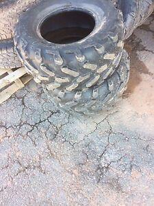4 used wheeler tires