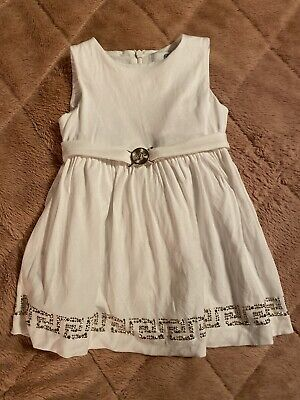 Young Versace Baby Girl Dress 12m