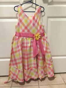 Girls party dresses - sizes 7/8