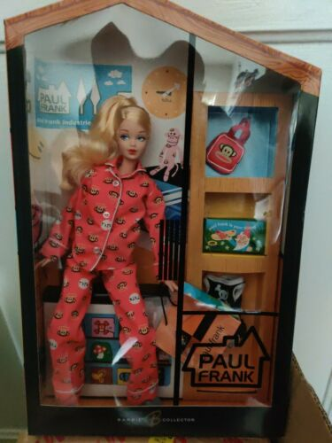 Paul Frank Barbie Doll Red Pajamas Rare Limited Edition - $450.00