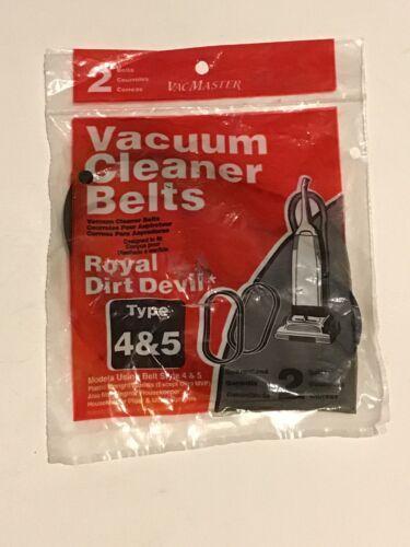 Royal Dirt Devil Type 4&5 Vacuum Cleaner Belts