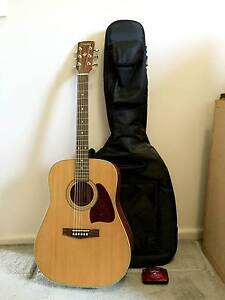 Ibanez AW-15 Acoustic Guitar with case + Fender Automatic Tuner Kensington Melbourne City Preview
