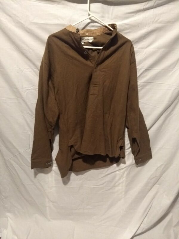 What Price Glory WWI 100% wools reenactment shirt user size 40