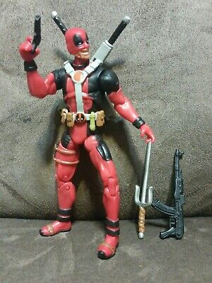 Half-Mask Deadpool (Wolverine Origins Movie) - Marvel Universe 4 Inch Figure