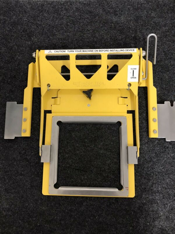Used EMS/Hoop Tech Embroidery Yellow Tubular Clamping System Q05-8