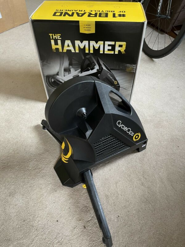 CycleOps H1 Hammer Direct Drive Smart Bicycle Bike Trainer Saris