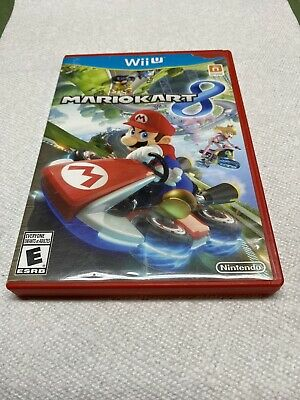 Mario Kart 8 Nintendo WII U Complete Tested Cleaned