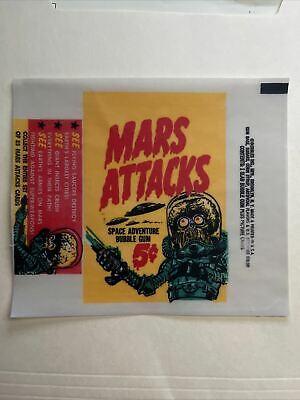 1960 Bubbles Mars Attacks Cards 5 Cent Wax Wrapper Print