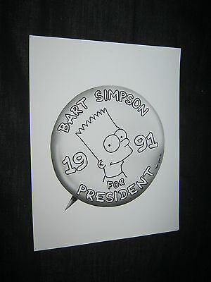Original THE SIMPSONS BART Periodical Press Kit Photo 8x10 #2