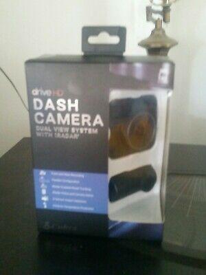 Cobra Drive HD Dash Camera Dual View System with iRadar DASH2316D New in Box