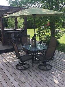 Patio dinning set
