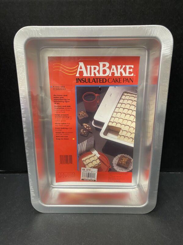 Rema Cake Pan Bakeware AirBake Insulated 13 x 9 SEALED