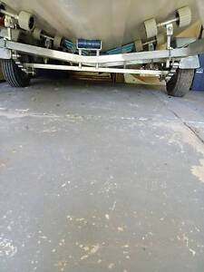 Dunbier full rolled boat trailer for sale, lot new parts.. Endeavour Hills Casey Area Preview