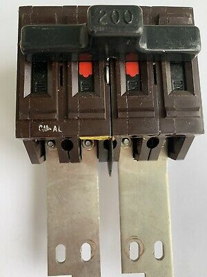 Wadsworth 200 Amp Main 200a 4 Pole 4p Type E Circuit Breaker Tested