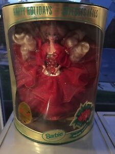 1993 collectable Christmas Barbie