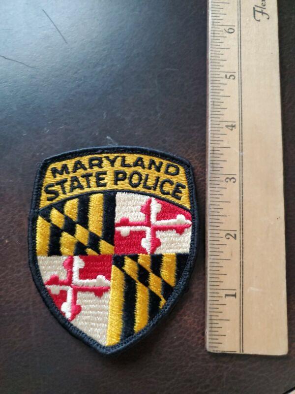 Vintage Maryland State Police Patch