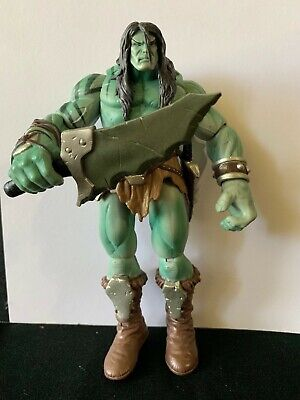 "Marvel Legends Fin Fang Foom Series Son of Hulk Skaar 6"" loose figure - Rare"