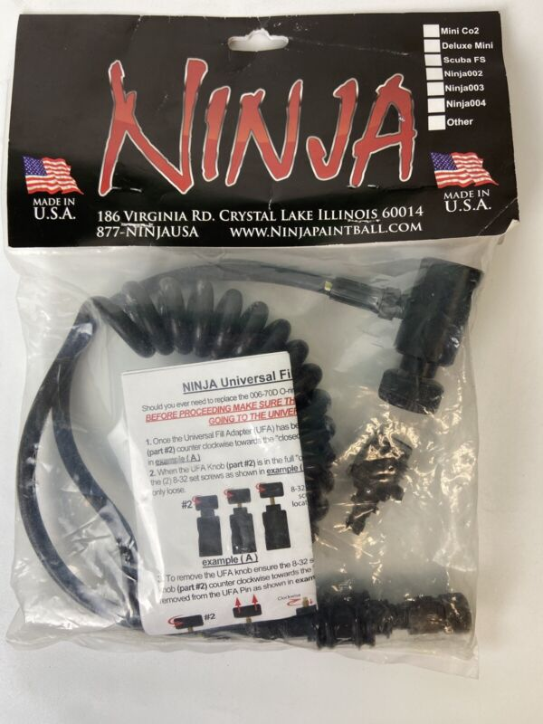 Ninja Paintball Universal Fill Adapter Rebuild