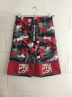 Red Camo Shorts (New Future Camo Red Shorts Unisex Billie Eilish, UK Grime, Selfridges, Skepta)