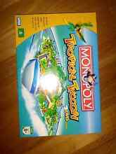 Monopoly Tropical Tycoon DVD Game Applecross Melville Area Preview