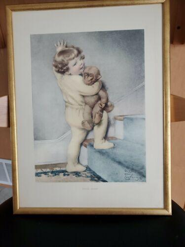 Bessie Pease Gutmann Vintage Original Litho Print Good Night 807 - $30.00