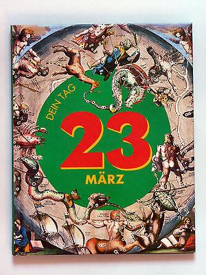 agsbuch mit Stammbaum - DEIN TAG 23.03. WIDDER  Geschenkidee (23. Geburtstag Ideen)