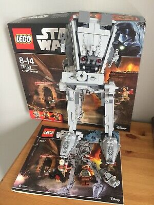 Lego Star Wars 75153 AT-ST Walker. With Box And Instructions.