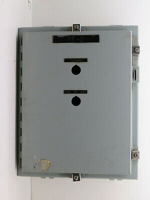 Hoffman A20h16alp Industrial Control Panel Enclosure 20 X 16 X 8 Type 4 12