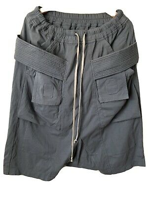 Rick Owens DRKSHDW Creatch Cargo Pods Size Small