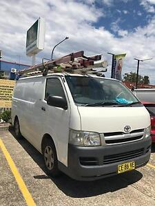 2006 Toyota hiace petrol manual Wetherill Park Fairfield Area Preview