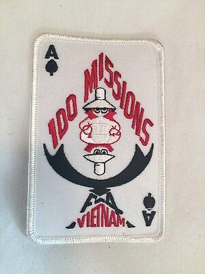 USN USAF USMC Vietnam F-4 100 Missions Military Patch