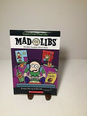 Game Over! Mad Libs World's Greatest Word Game Gamer Edition New](Mad Libs Game)