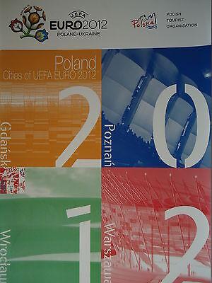 Ausgabe Polska UEFA Euro 2012 Cities Gdansk Wroclaw Poznan Warszawa