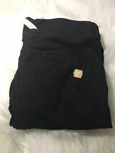 Freddy Black Cotton Pants