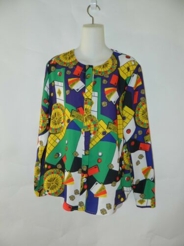 Stylenanda Gambling Las Vegas Shirt Tahoe Multi-Colored Women