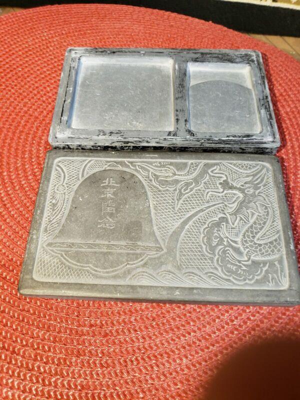 Chinese Japanese Duan Ink Stone Suzuri Calligraphy Tool