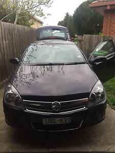 Holden Astra Coupe /sports car 2007 black Dallas Hume Area Preview