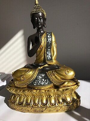 "Thai Healing/Blessing Buddha Statue 9.5"""