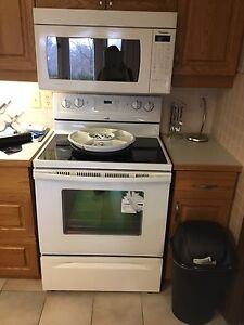 Whirlpool Stove and microwave