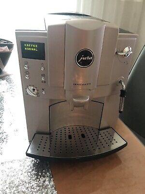 Jura IMPRESSA E75 Platinum 16 Tassen Espresso-Vollautomat - Sehr guter Zustand!