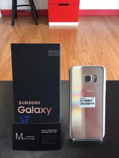 Back in Stock, Samaung Galaxy S7, Silver Titanium, 32G