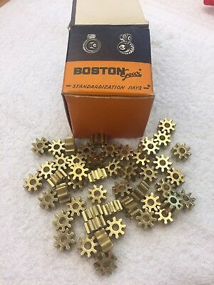 Boston Gear Brass G226 Spur Pinion Gear 16 Pitch 316 Bore Clock Telescope Nos