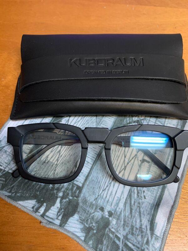 Kuboraum Maske K18 Black Matte New Frames Glasses