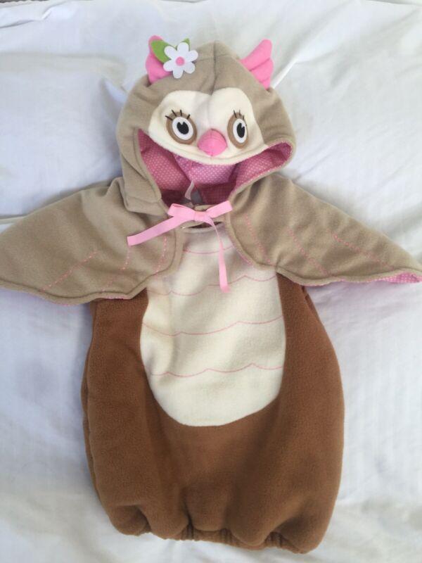 Pottery Barn Kids Owl Costume 12 -24 Mos EUC