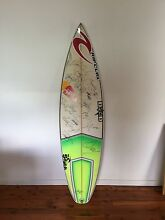 Signed surf board Mermaid Beach Gold Coast City Preview